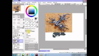 {Speed Drawing} Fox and Blue Dragon SeaSlug
