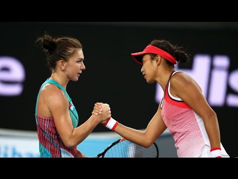 Zhang Shuai VS Simona Halep Highlight 2016 AO R1