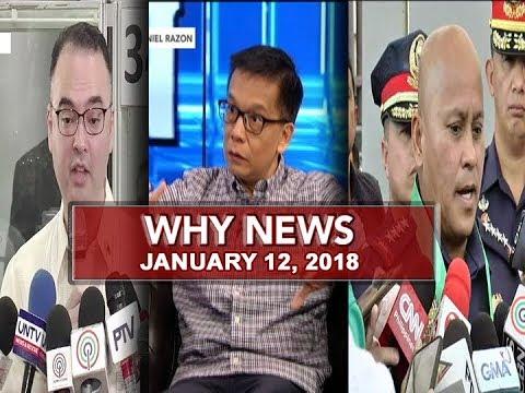 UNTV: Why News (January 12, 2018)