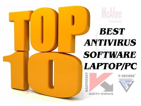 TOP 10 BEST ANTIVIRUS FOR LAPTOP/PC 2016