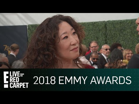 "Sandra Oh Says She Knew ""Eve"" Role Was Special at 2018 Emmys 