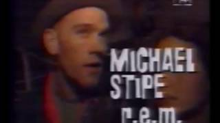 R.E.M. 1993-01 - MTV News, UK ('Rock For Choice' benefit show with comments from Michael Stipe)