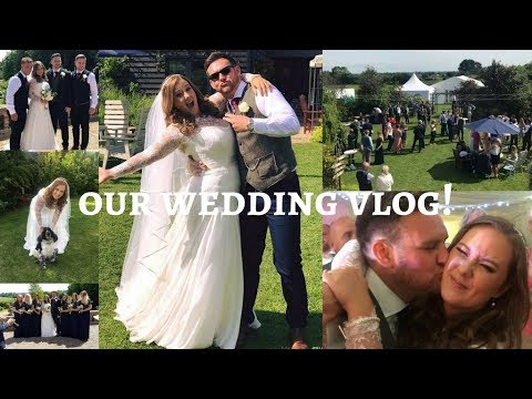 OUR WEDDING VLOG - Sophie Callahan Photography