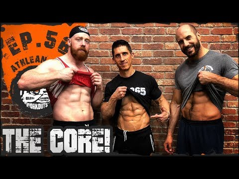 Ep.56 Athlean X Core Workout With Cesaro...