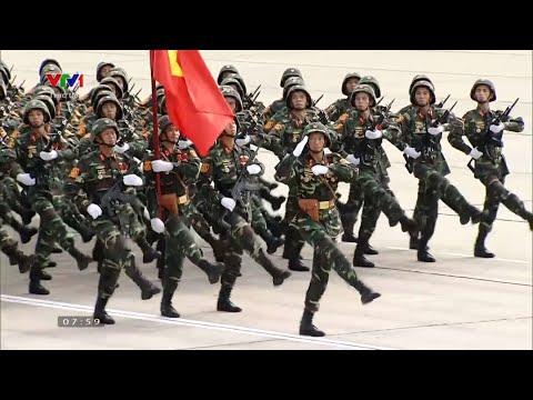 Diễu binh (duyệt binh) mừng 75 năm thành lập Quân đội nhân dân Việt Nam 22/12/1944 - 22/12/2019