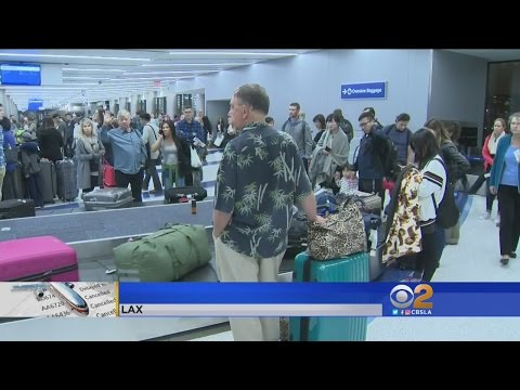 Construction Contributes To Delays, Cancellations For LAX Holiday Travelers