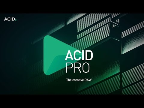 ACID Pro 8: The Creative DAW For All Music Producers