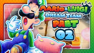 Mario & Luigi: Dream Team - Part 2: THE GHOST OF PI