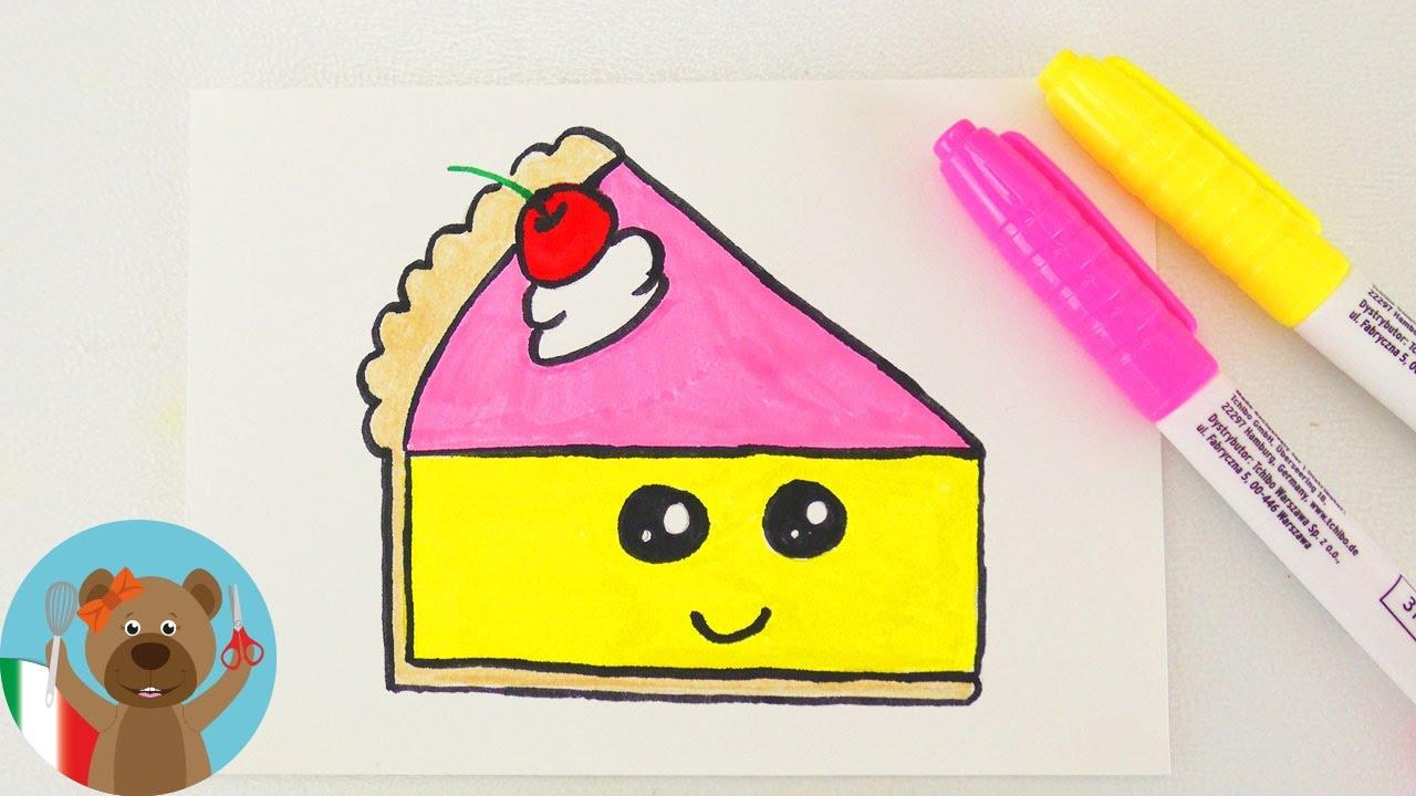 Torta Kawaii Fai Da Te Torta Carina Per Biglietti Di Compleanno E