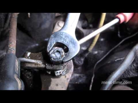 Замена механизма выбора передач Opel Vectra A