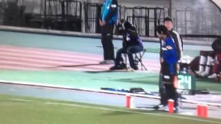 2014/3/19 小川直毅 ガンバでのプロデビューの瞬間