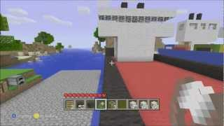 Minecraft Xbox Edition:How To Make A Cargo Ship Part 2