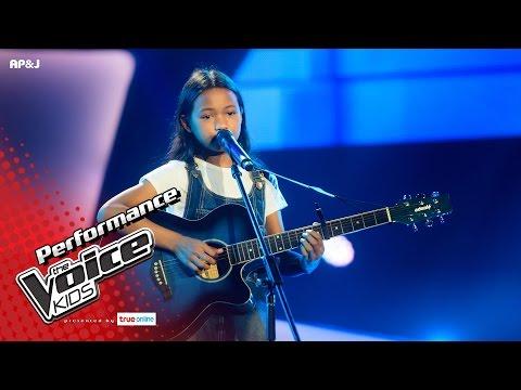 โจโจ้ - Black Bird - Blind Auditions - The Voice Kids Thailand - 7 May 2017