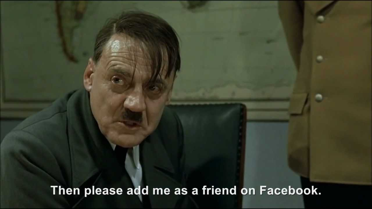 Hitler rants about Facebook's IPO