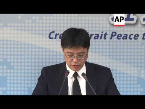 Taiwan on 'peaceful' return of China dissident