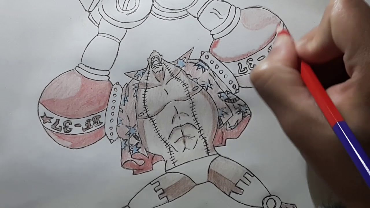 How to draw franky