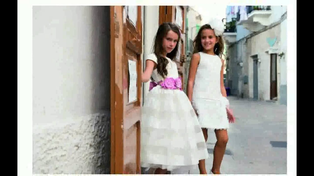 Popolare Pettinature Per Bambina Prima Comunione - foto - YouTube WH58