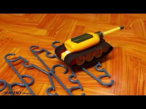 Pratik Malzemelerle Oyuncak Tank Yapımı