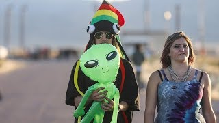 AREA 51 L VESTREAM  Alien Enthusiasts Gather Near Area 51 2019