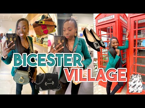 Luxury Shopping at Bicester Village! | New Rules for Social Distancing! | Prada, Fendi, Givenchy etc