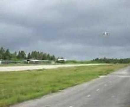 Aborted landing in Funafuti, Tuvalu