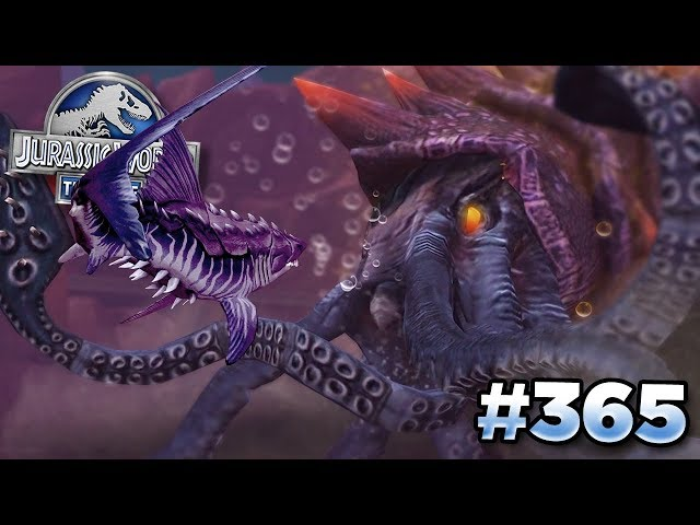 FIGHTING THE NEW KRAKEN BOSS!!! | Jurassic World - The Game - Ep365 HD