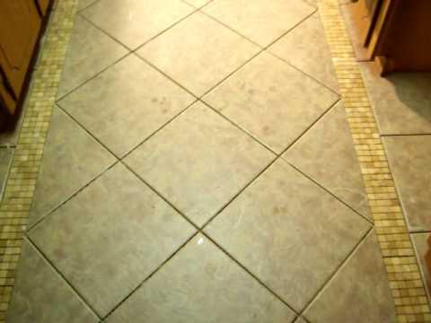 Ceramic tile installation - YouTube