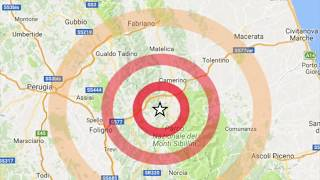 FORTE SCOSSA DI TERREMOTO: AVVERTITO IN TUTTO IL CENTRO ITALIA