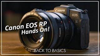 Canon EOS RP Hands On em Português.