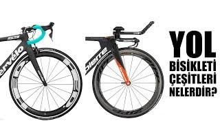 Yol - Yarış Bisikleti Çeşitleri Nelerdir? [4K]