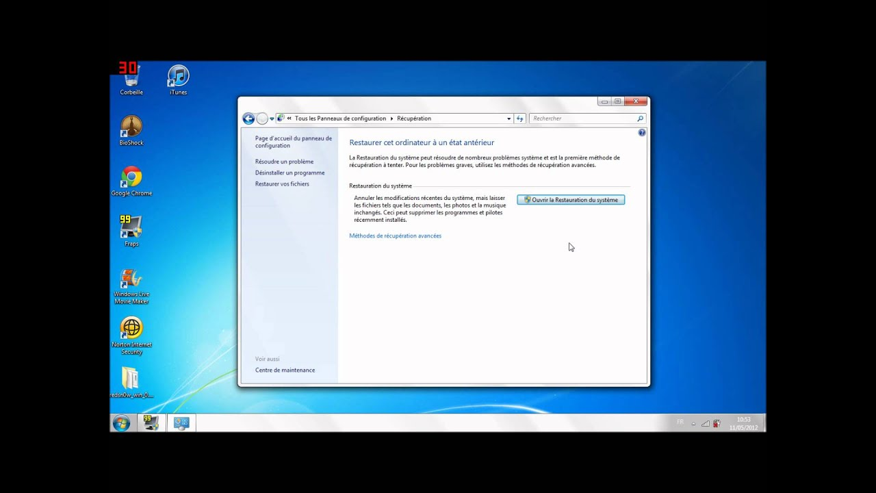 Restaurer Un Ordinateur Windows