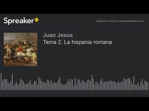 Tema 2. La hispania romana