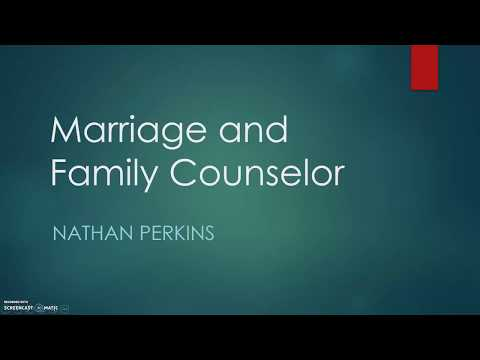 Psych 112 Assignment: Marriage and Family Counseling