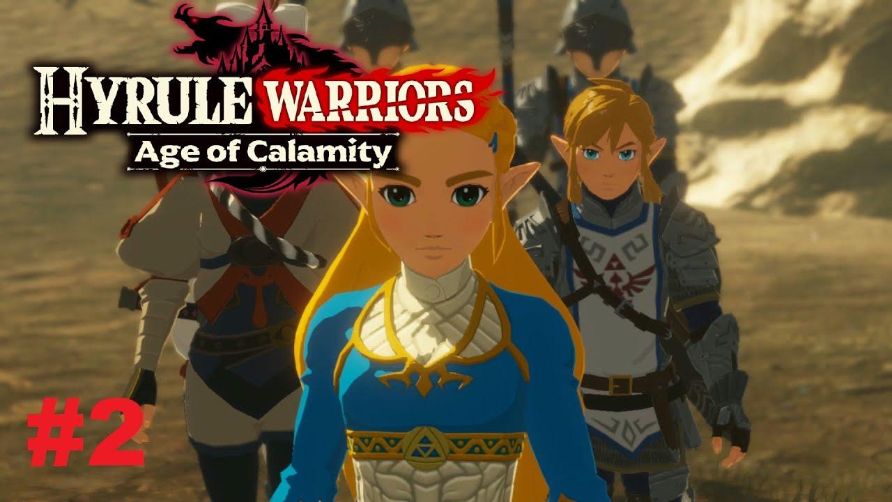 The Breach Of Demise Hyrule Warriors Age Of Calamity Demo Walkthrough Part 2 Zelda Gameplay Youtube