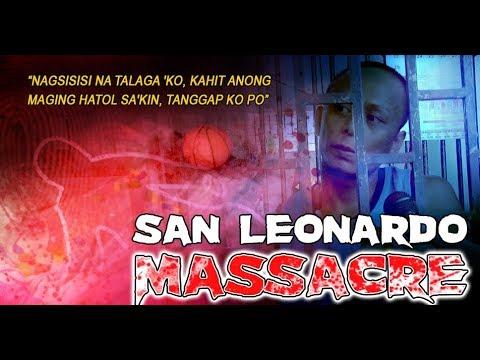 Selos at galit sa mga kaanak, motibo ng suspek sa massacre sa San Leonardo
