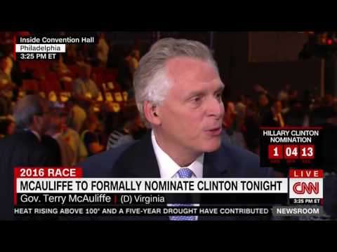 Terry McAuliffe snaps that CNN '100 percent wrong' for story about improper donations to campaign