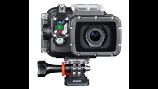 Test, kamera AEE S71