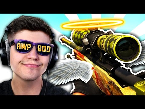 """""""BECOMING THE AWP GOD!"""" - COMPETITIVE MATCH - (Counter Strike: CSGO)"""