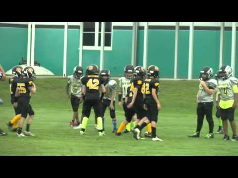Merritt Island Jr Pee Wee vs Melbourne Ducks 2016 part 1