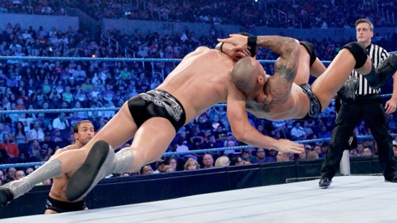 Wwe Awesome Randy Orton Rko Hd Youtube