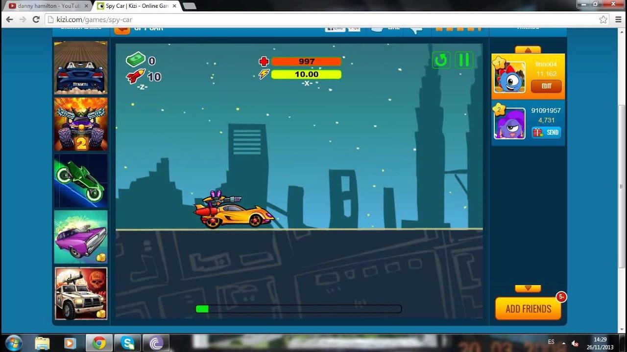 Car spy game - CARSPART