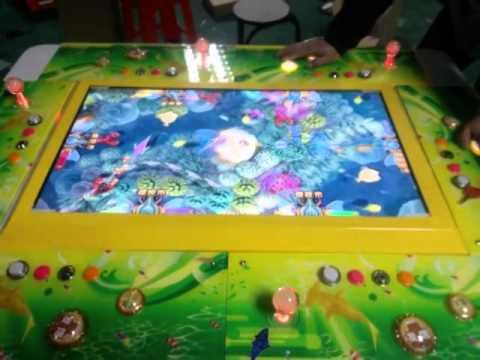 Ocean king plus poseidon fish arcade games youtube for Ocean king fish game