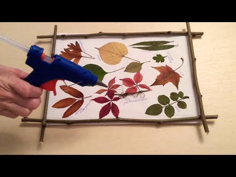 🏞 Wall decoration DIY 🏞 Leaves idea DIY 🏞 Fall room decor ideas DIY.