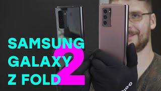 Что нового в складном смартфоне Samsung Galaxy Z Fold2? Первый взгляд