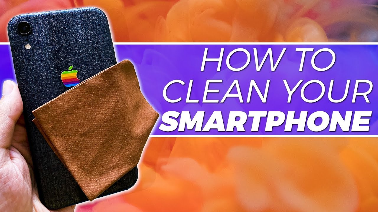 Your Smartphone Can Get Really Dirty, Here's How You Can Clean It