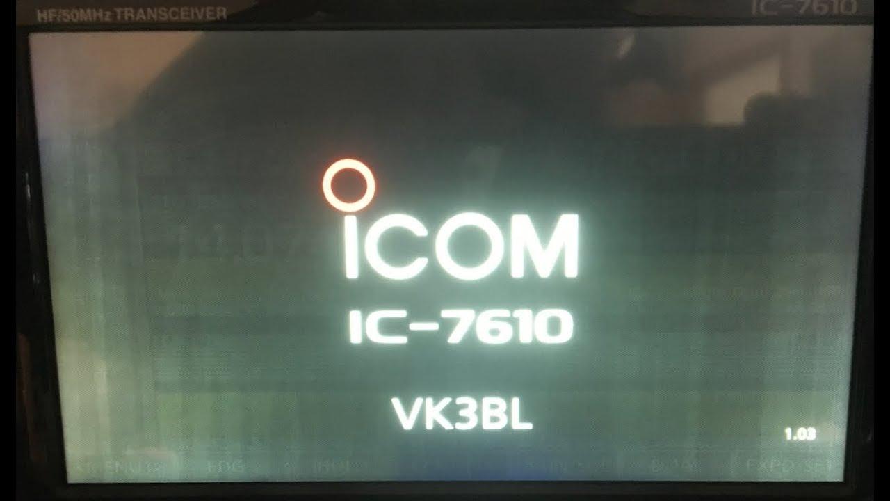 Смотрите сегодня IC-7610 Issues: LCD Burn In, 'Heatsink Gate