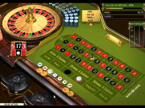 Strategie pour gagner a la roulette au casino