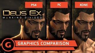 Deus Ex: Mankind Divided Graphics Comparison