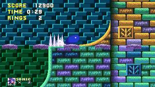 Sonic 3 - Giant Ring Locations - Hydrocity Zone (Sonic)