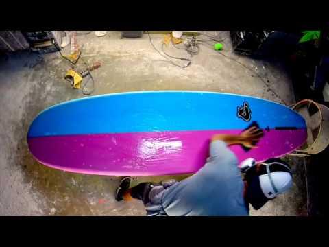 Surfboard Sanding-Polishing / C-Shapes